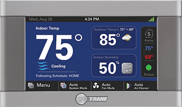 total-hvac-trane-thermostat